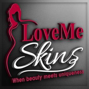 LoveMe Skins LogoBorder-NEW